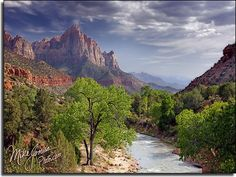 Zion National Park, Utah, by Mike Jones, not photoshopped