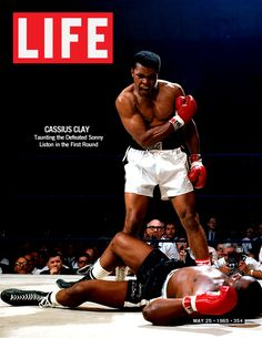 Life Magazine Cover of Muhammad Ali at an iconic moment of his career. Description from pinterest.com. I searched for this on bing.com/images