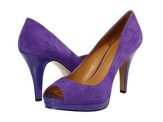 Nine West Danee in purple suede