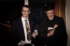 Matthias Wunsch (bildende Kunst) und Sebastian Urbanke (Bariton) tragen Faust vor! Berlin, Friends, Visual Arts, Wish, Amigos, Boyfriends