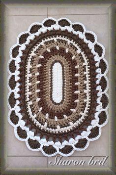 Crochet rug - Crocheting Journal