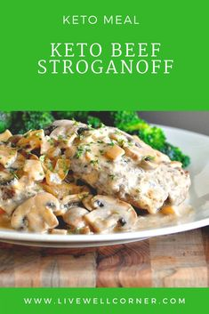 Keto Beef Stroganoff  |Recipe|  #ketogenic #ketorecipes #keto #diet #dieting #ketogenicrecipes #recipes