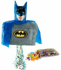 3D Batman Brave and Bold Pinata Kit including Pinata and Filler by Pinatas.com. $49.93. Includes (1) pinata and (1) 2lb pinata filler. Filler includes approximately 2 pounds of candy and toys, including Laffy Taffy, Smarties, Tootsie Rolls, among others. Caution: not recommended for children under 3 years of age.