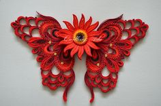 Quilling by Ada: Fluture