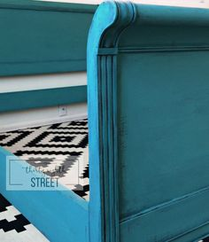Thirty Eighth Street   Painting A Headboard With Chalk Paint®. How To Layer Paint To Create A Lovely Patina!
