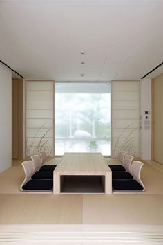 Interior aspect of the F Residence in Kamakura, Japan by Edward Suzuki Architecture