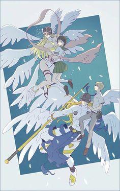 Takeru y Hikari con sus Digimon :) Anime Couples Manga, Manga Anime, Digimon Adventure Tri., Digimon Wallpaper, Digimon Digital Monsters, Anime Friendship, Gundam Art, Pokemon Fusion, Anime Kawaii