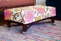 how-to make a reversible slipcover