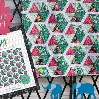 Quilting: Hexie Drive Quilt Pattern