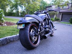 Harley V-Rod night special..... The epitome of the bike I'd love to have!