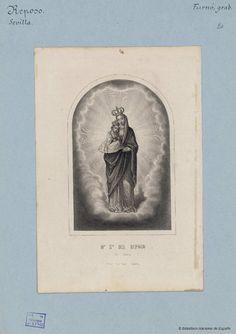 N.ª S.ª Del Reposo en Sevilla. Furno y Abad, Joaquín 1832-1918 — Grabado — 1801-1900?