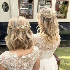 86 cool wedding hairstyles for the modern bride - Hairstyles Trends Wedding Hair Side, Wedding Hair And Makeup, Hair Makeup, Wedding Beauty, Wedding Nails, Medium Hair Wedding Styles, Boho Wedding, Bride Nails, Headpiece Wedding