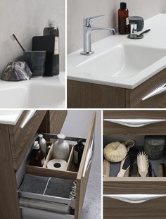 When details combined create a functional and harmonious living space in the bathroom.