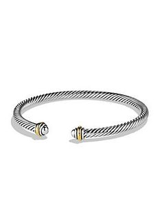 David Yurman Cable Classics Bracelet with Gold 0434478701747 Read 9 Reviews|Write a Review Q & A: Ask a Question|See All Q(6) & A(4) Color:Silver-Gold AED 1560.63