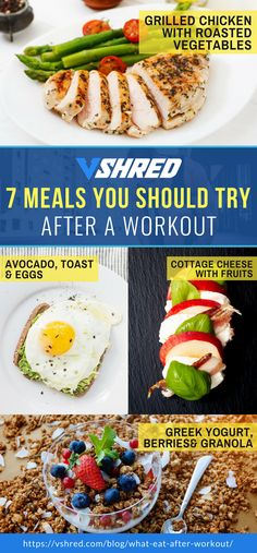 What To Eat After A Workout 7 Food Options PostWorkout Your postworkout meal should be composed of foods that are easy to digest for faster nutrient absorption Check ou. Post Workout Breakfast, Post Workout Snacks, Healthy Workout Meals, Post Workout Carbs, Best Post Workout Food, Eating After Workout, After Workout Snack, Clean Eating, Healthy Eating