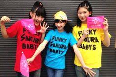 Funky Sakura Babys