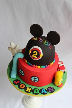 Mickey mouse club house cake | Flickr - Photo Sharing!