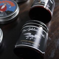 The Golden Eagle is one of best unorthodox pomade in market with apple scent and packed with exclusive jar. #grooming #dapperspomade #goldeneagle