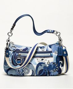 COACH POPPY POP C DENIM GROOVY - Sale & Clearance - Handbags & Accessories - Macy's