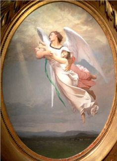A Soul Taken away by an Angel  - Jean-Leon Gerome