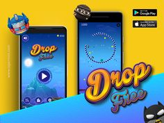 Drop Free Game designed by Capermint Tech. Connect with them on Dribbble; Game Drop, Mobile Game Development, Free Games, Game Design, Google Play, Itunes, Ios, Android, Apple