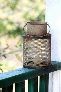 "$21.50 {Country Streams} Vintage Minnow Bucket Lantern ~WUSLU Daily Deal... What a ""Catch"" LOL"