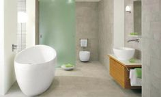 sensuous oval bathtub bathroom design concept