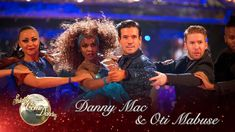 Consistently great: Danny Mac, once again drew high-praise from the Strictly Come Dancing judges as he topped the leaderboard on Saturday's musical-themed show Strictly Come Dancing 2016, Christmas Shows, Les Miserables, First Night, Tango, Musicals, Champion, Mac, Shit Happens