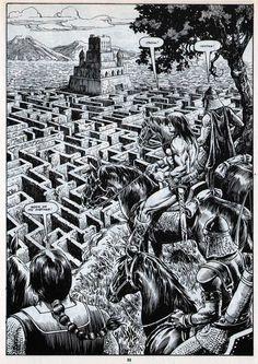 Art by Alfredo Alcala