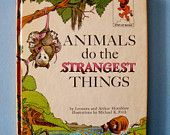 Animals Do the Strangest Things Childrens Book