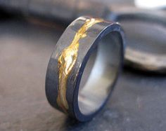 Joel Loves Mens Wedding Band Rustic Wedding Band Mens Wedding Ring