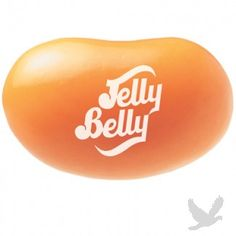 Jelly Belly Orange Crush jelly beans in bulk. Taste exactly like the soda flavor! From Jelly Belly& Soda Pop Shoppe. Jelly Belly Logo, Jelly Belly Beans, Gourmet Jelly Beans, Jelly Bean Flavors, Orange Sherbert, Apple Jelly, Online Candy Store, Peach Bellini, Candy Companies