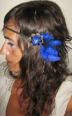 """Cinta del pelo """"vintage 25"""" de Luas Complementos por DaWanda.com"""