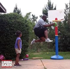 """"""" The Inaugural Annual (probably every other week) Dyson Family Dunk Contest""""  #AllTens  #AllWeDoIsWin  #dadlife  #FamilyFun @deseandyson #fatherhood #parenting #family #dads #dads #blackfathers #blackdads #urbndads #blavity #blackfathersmatter #blacklove #melanin #dads #family #love #like #follow  #support #fathers #parents #blackfather #blackdad #blackfamily #parenthood"""