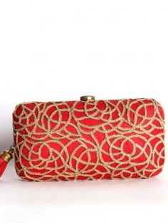 Buy Online Rich red clutch from Love To Bag - 2014