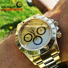 Lundi: Rolex Cosmograph Daytona Full Gold 16528