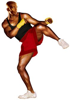 Billy Blanks the ORIGINAL!  I remember doing this in high school, when i totally didn't need to work out.