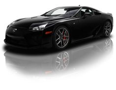 Black on Black Lexus LFA 4.8 Liter V10 6 Speed - This is car is definitely under rated. What do you fellow carhooters think? #spon