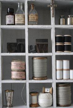 Home craft room storage