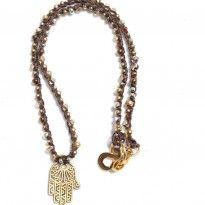 Handmade Bohemian jewelry from California #hamsahand
