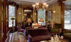 steampunktendencies:  1878 Victorian mansion in Dutchess County, New York.  [Via Victorian Houses]