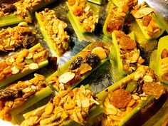 Husband Tested Recipes From Alice's Kitchen: Hippies on a Log Snack