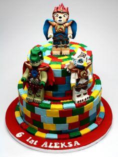 Amazing LEGO Chima Birthday Cake , London - http://www.pinkcakeland.co.uk