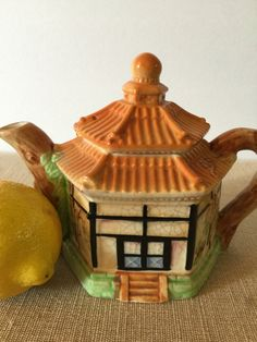 Cottage Ware Teapot Maruhon Ware Made in by PineStreetPickers