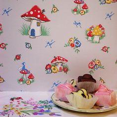 Pixie wallpaper #kidsrooms #kidswallpaper