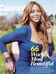 Smartologie: UPDATED: Beyonce: 2012 World's Most Beautiful Woman 'People' Magazine - EDITORIAL