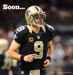 9 Sundays away from the #Saints opening the regular season against the Falcons!