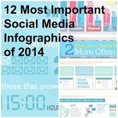The 12 Most Important Social Media Infographics of 2014