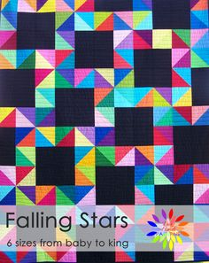 Falling Stars ~ Busy Hands Quilts