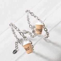 Mocha BFF Charm Bracelet Set  @szalekian320